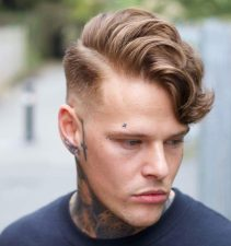 Alan Beak Side Part Haircut Hairstyles For Men Fade E1515452308977 962x1024