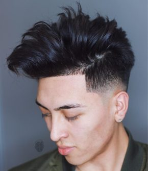 Baldysbarbers Hairstyles For Asian Men Medium Length Messy Fade E1519926124350