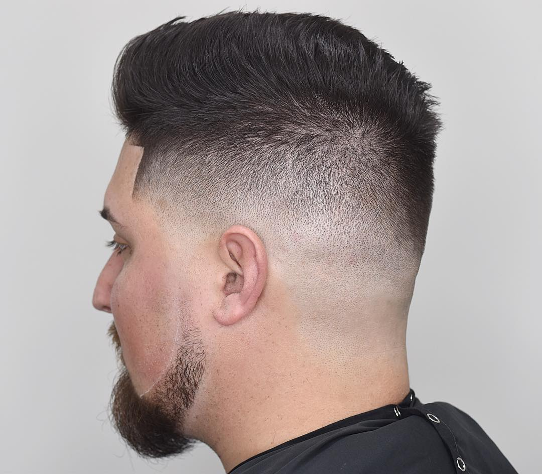 Drewdabarber Comb Over High Fade Haircut Line Up Hairstyles