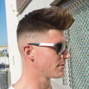 Javi Thebarber Mens Hair 2018 Spikes Mid Bald Fade