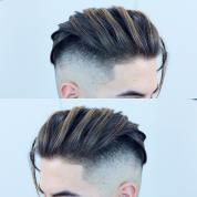Rio Black Rose Medium Length Hairstyles For Men High Fade Comb Over