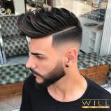 Willsalon Medium Length Hairstyles For Men 2018 Spikes High Fade