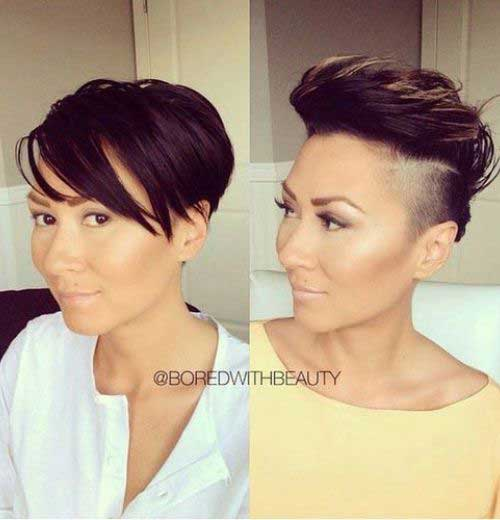 13. Short Hairstyle