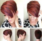 8. Layered Short Hairstyles