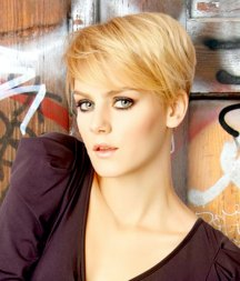 Blonde Short Haircuts Pictures