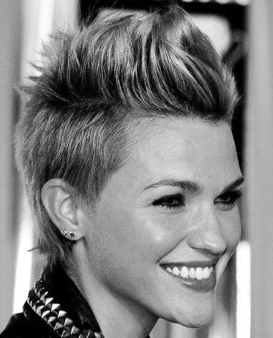 Faux Hawk For Short Hair Women