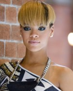 Rihanna Hairstyles Interesting Bowl Cut