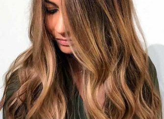 Light Brown Hair Styles Long Curly Sun Kissed Ombre