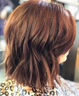 Simple Textured Bob Short Choppy