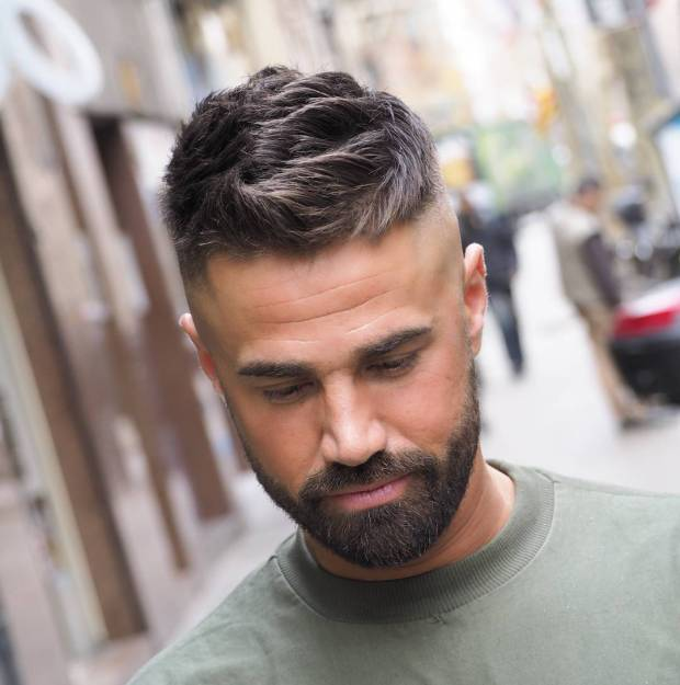Ambarberia Mens Short Haircuts With Beards