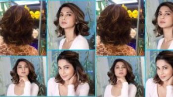 Jennifer Winget New Bob Haircut For Wedding With Husband In Drama Tv bollywood actress hairstyles