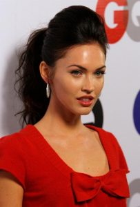 Megan Fox Updo Hairstyle Min
