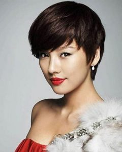 Pixie Haircuts For Asian Women 18 Best Short Hairstyle Ideas Within Most Recently Pixie Hairstyles For Asian Round Face Min
