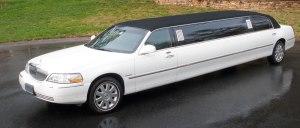 The Tuxedo 10 passenger limousine