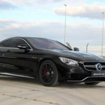 Black S63 AMG Coupe