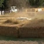 Alfa Romero 4C in the hay