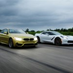 Bmw M4 vs Chevrolet Corvette Stingray 1