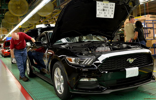 Ford Mustang Factory 1