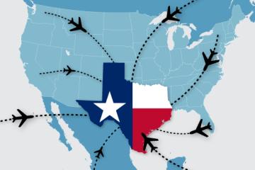 搬到德州!德州人口出现爆发式增长,加州和纽约人口流失加剧