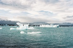 Lac de Jökulsarlon 1 –Dérives d'iceberg du Vatna jökull © JanPier