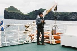 Tom à l'approche des iles de Vestmann © JanPier