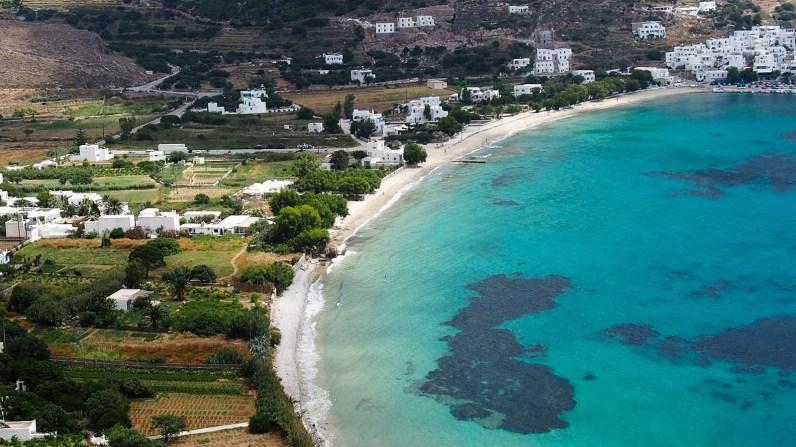 Aegali beach
