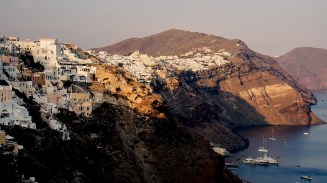 Belle view de Fira