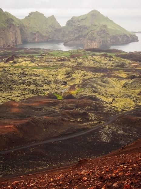 Dernière éruption de 1973