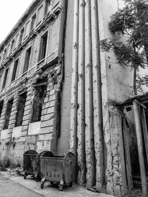 Les cicatrices de Mostar I © Sandy