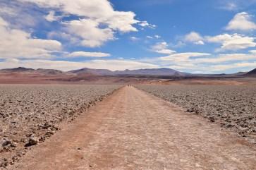 La route vers le Cono de Arita