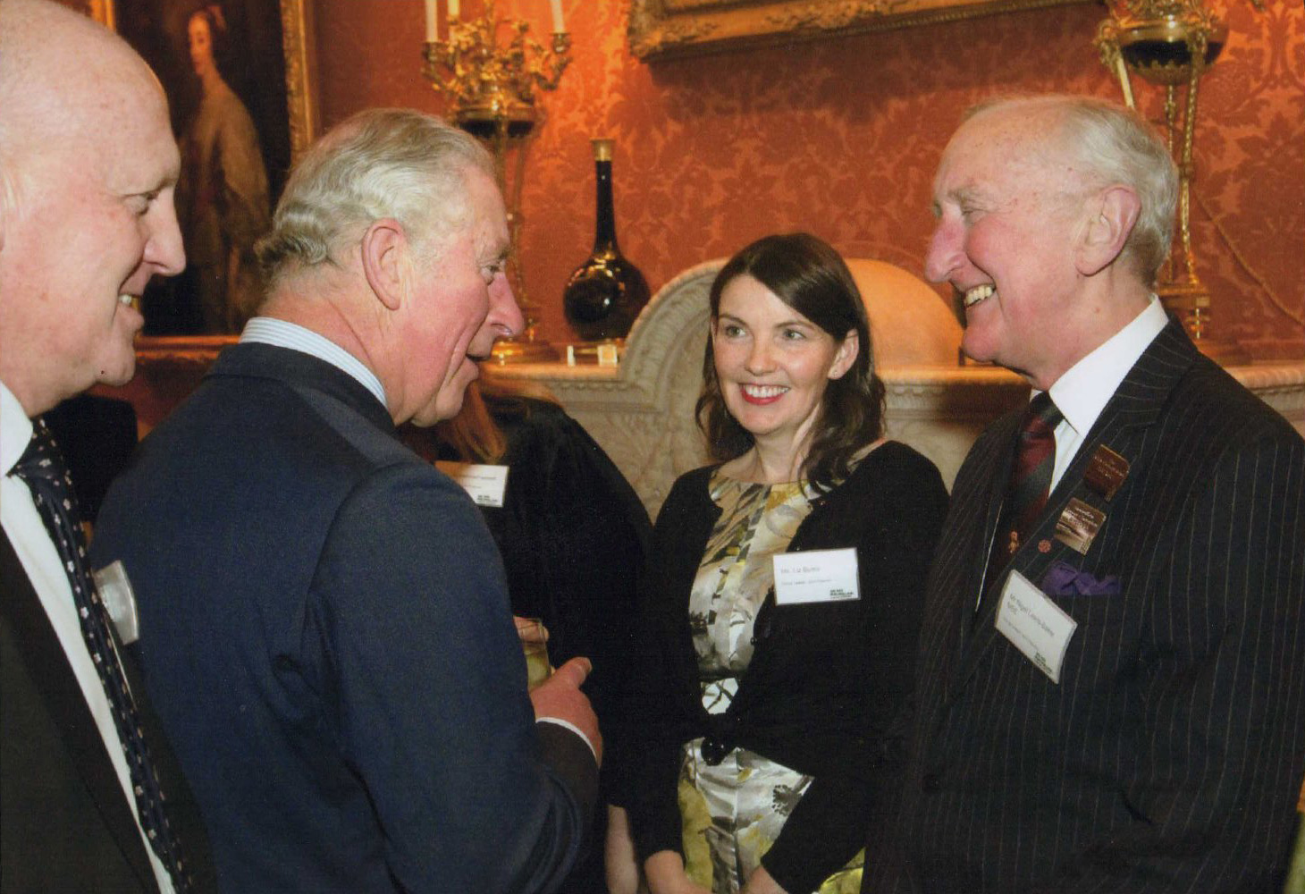 A Macmillan Reception and a New Patron