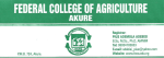 FECA New Courses and Requirement 2019/2020 | See Full list of Courses Offered in Federal College of Agriculture, Akure™