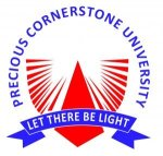 Precious Cornerstone University (PCU) Post UTME/Direct Entry Screening Form for 2019/2020 Academic Session