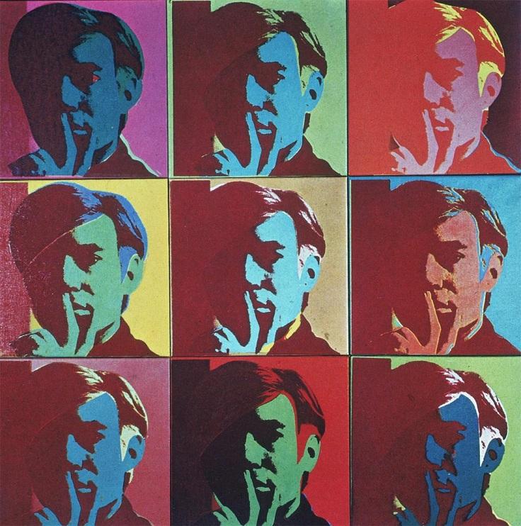 Self Portrait Andy Warhol 1966