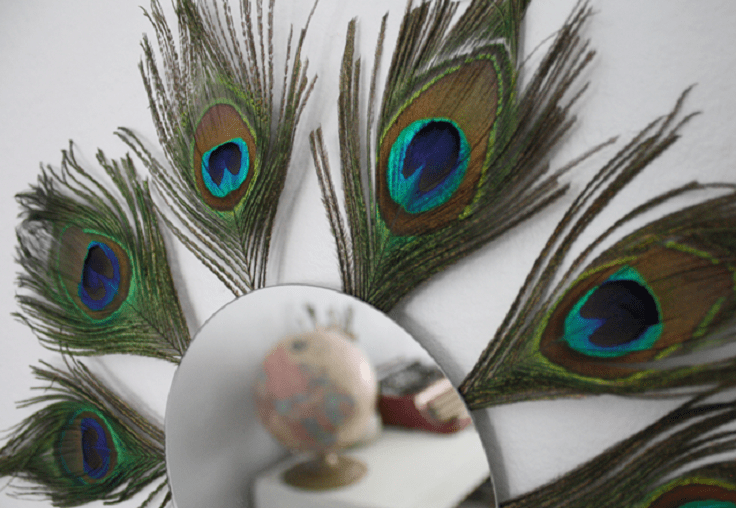 Top 10 Breathtaking Peacock Inspired Looks And DIY
