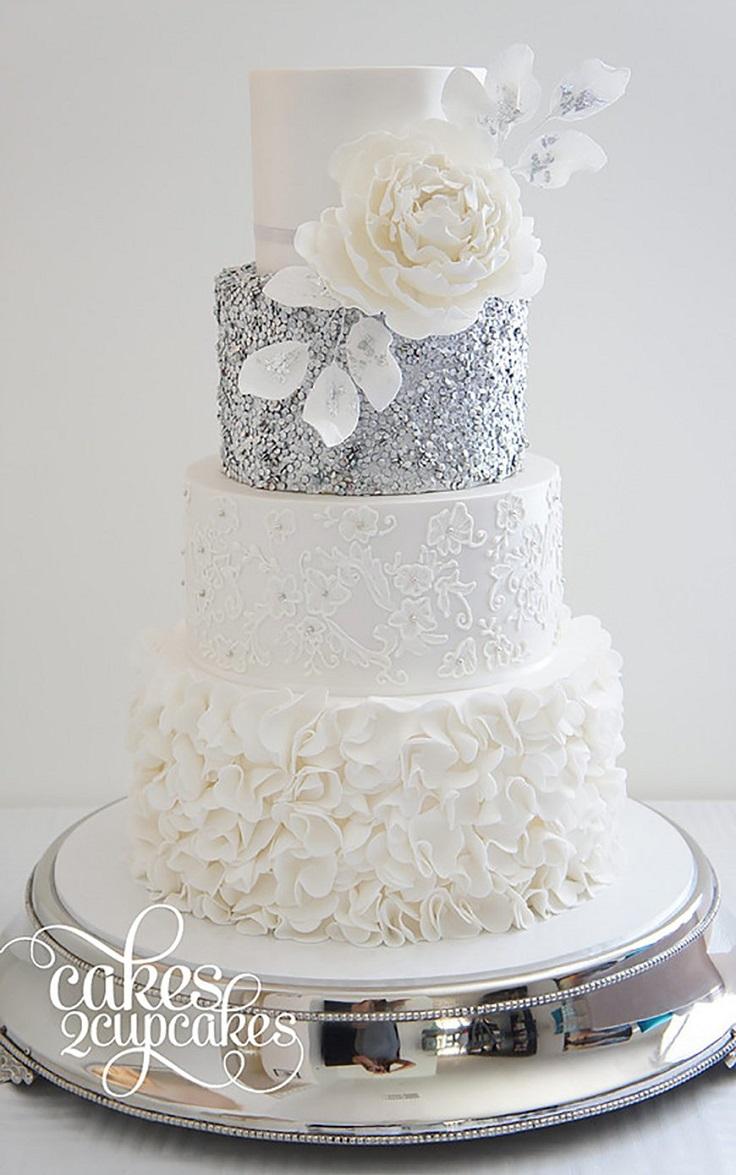 10 Wonderful Wedding Cake Ideas - crazyforus