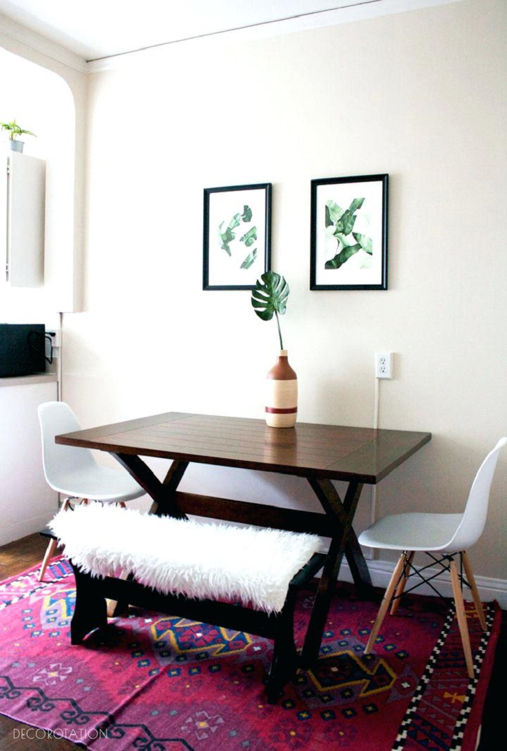 Small Boho Living Room: 10 Gorgeous Small Dining Room Ideas