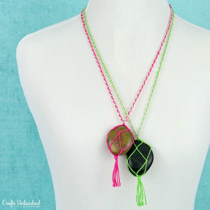 Top 10 DIY Necklaces You're Going to Love Wearing