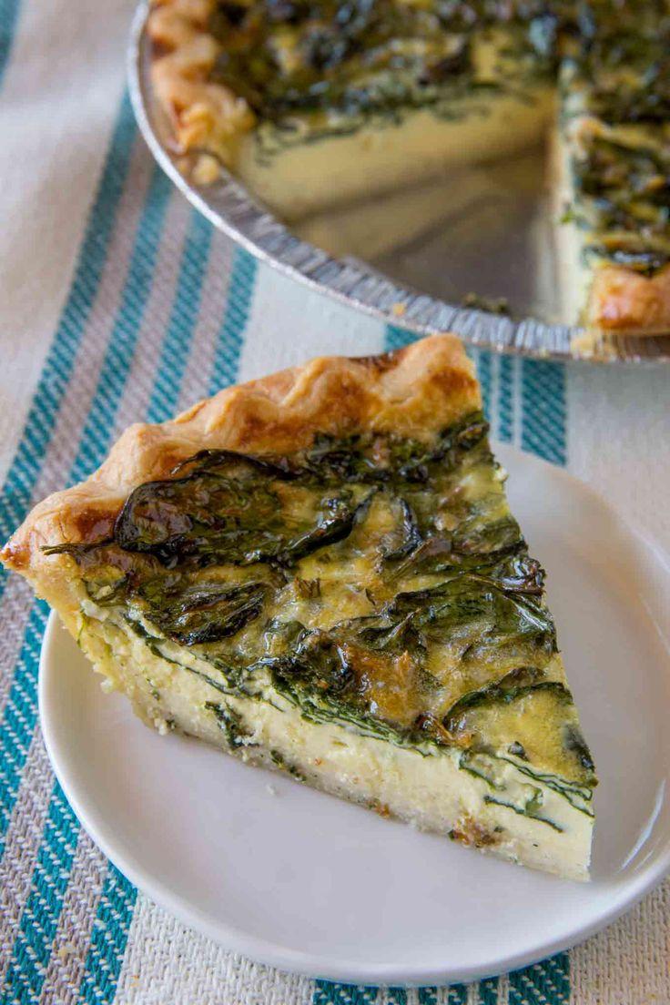 2. Spinach Quiche