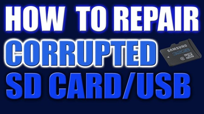 How to Repair or Format Damaged Memory Card or USB