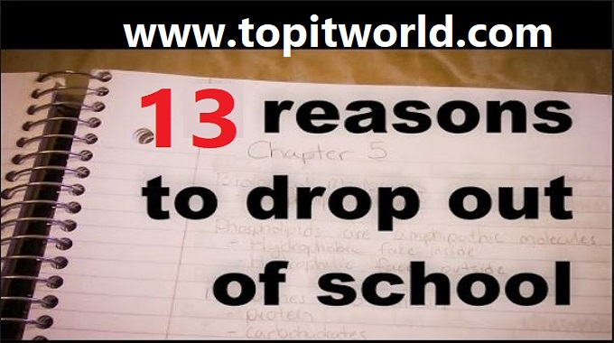 Top 13 Major Causes of Dropout in Schools