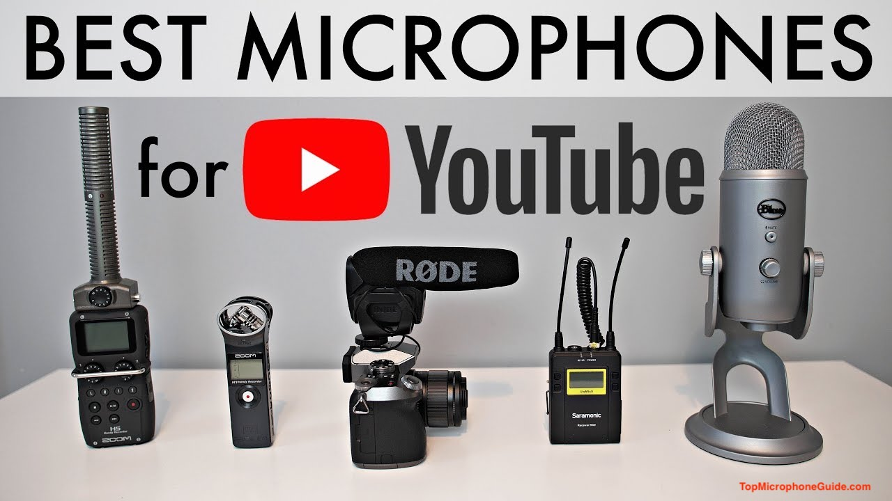 Microphones For YouTube Videos