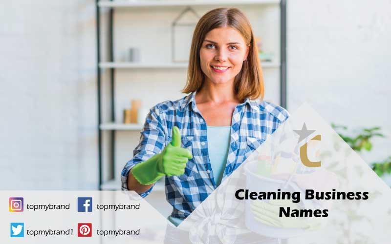 unique cleaning business names ideas