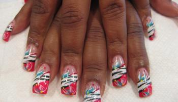 African mardi gras nail art designs by top nails clarksville tn serengeti sunrise nail art designs by top nails clarksville tn prinsesfo Images