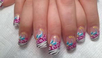 Busy Bee Nail Art Designs By Top Nails Clarksville Tn Top Nails