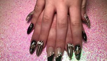 Purple tiger stargazer nail art designs by top nails clarksville dress up nails nail art designs by top nails clarksville tn prinsesfo Gallery