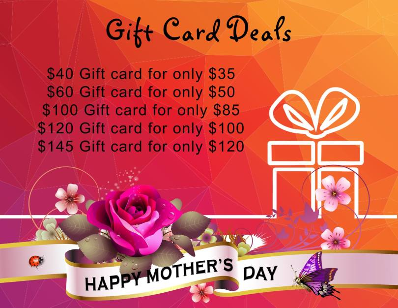 Happy Mother's Day Gift Card Deals