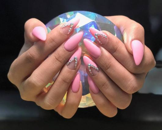 Lovely pink nails