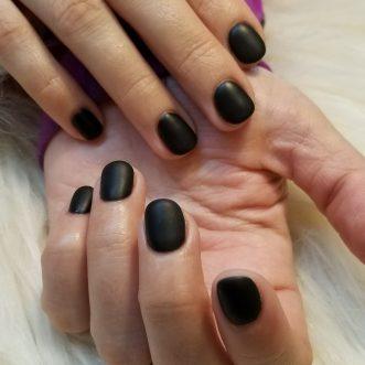 Want matte look on SNS dip powder nails? No problem!