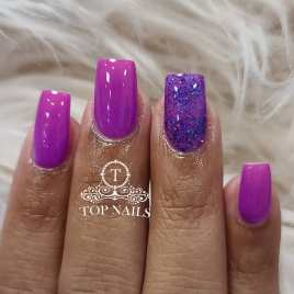 SNS Dip power ombre. Lovely Purple